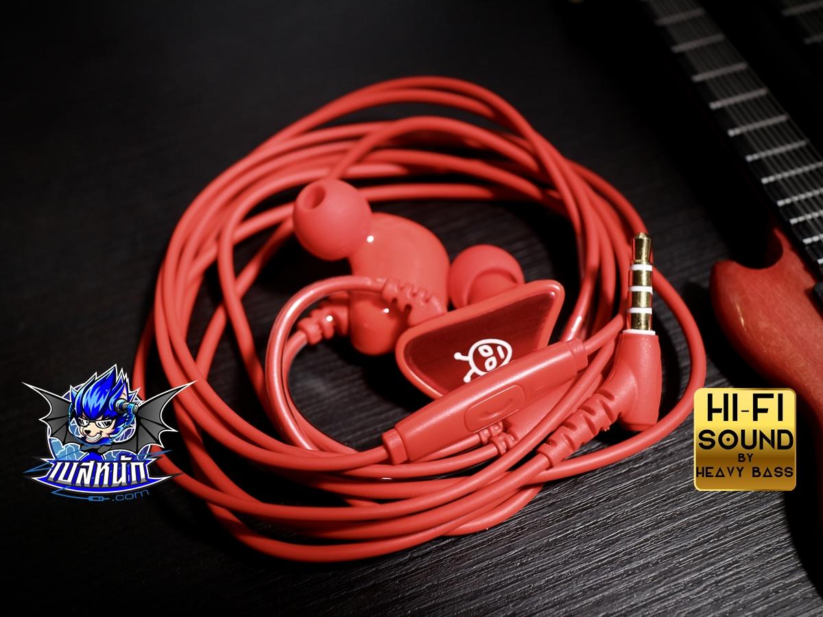 จารึก(JA-RUK) หูฟัง IN EARออกแบบLOGOเองได้!! เบสสุดโหด เสียงสุดเทพ!!
